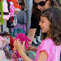 Kids' handcrafted hats, dolls and accessories